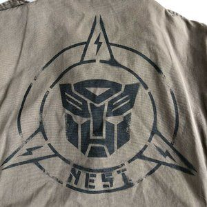 Universal Studios Nest Autobot Transformers Army M